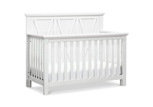 Franklin And Ben Franklin And Ben Emory Farmhouse 4 In 1 Crib In Linen White