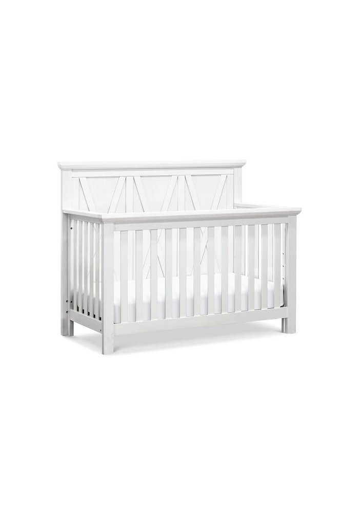 Franklin And Ben Emory Farmhouse 4 In 1 Crib In Linen White