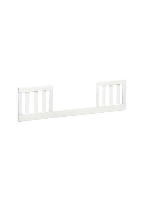 Franklin And Ben Franklin And Ben Emory Farmhouse Toddler Bed Conversion Kit Linen White