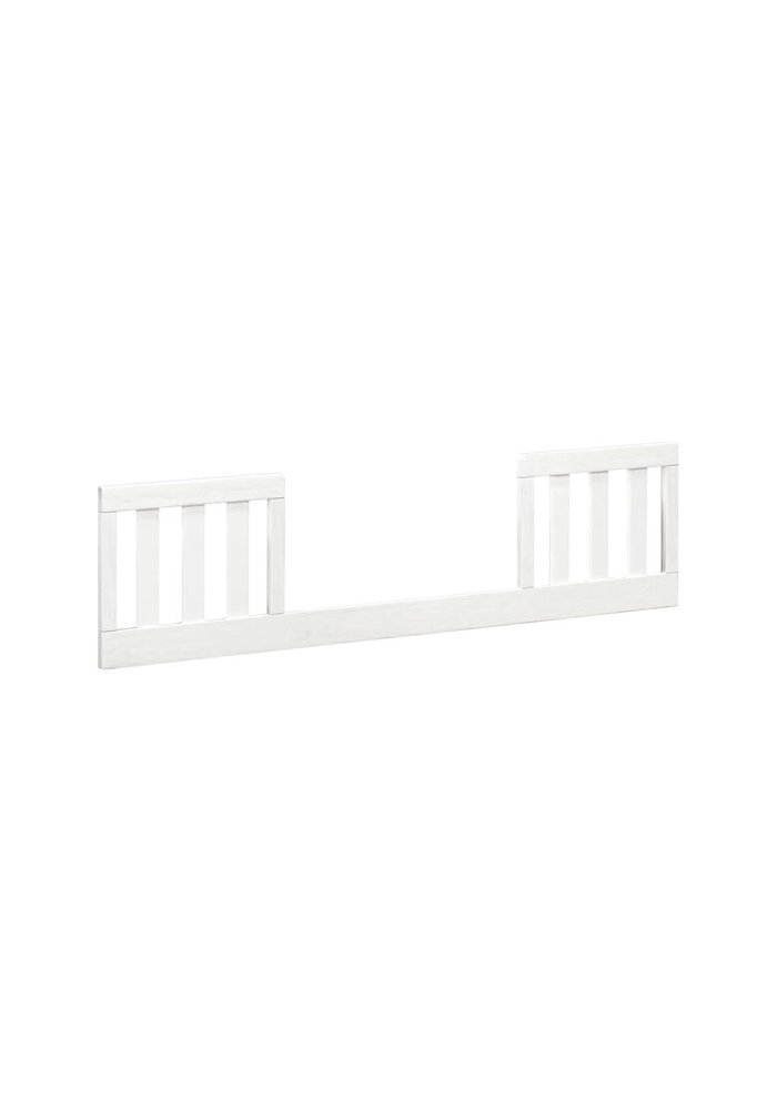 Franklin And Ben Emory Farmhouse Toddler Bed Conversion Kit Linen White