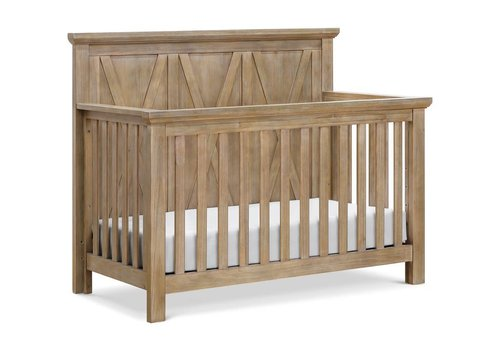Franklin And Ben Franklin And Ben Emory Farmhouse 4 In 1 Crib In Linen Driftwood Finish