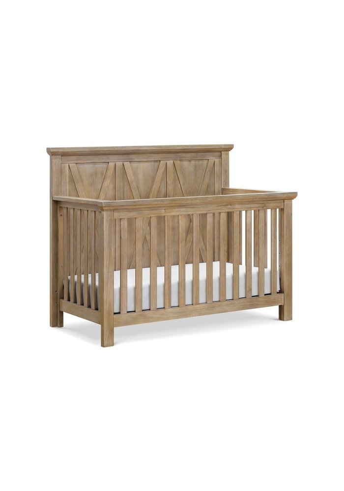 Franklin And Ben Emory Farmhouse 4 In 1 Crib In Linen Driftwood Finish