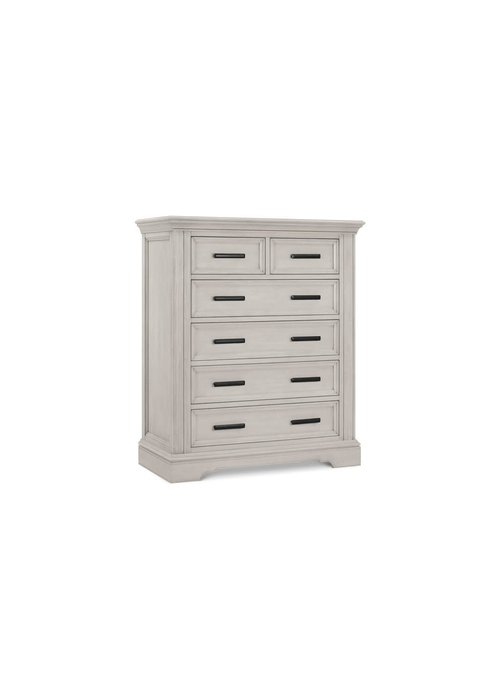 Franklin And Ben Franklin And Ben Holloway Tall 6 Drawer Dresser In London Fog