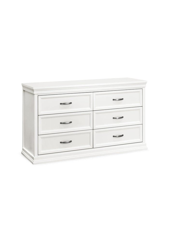 Franklin And Ben Langford 6-Drawer Dresser in Warm White
