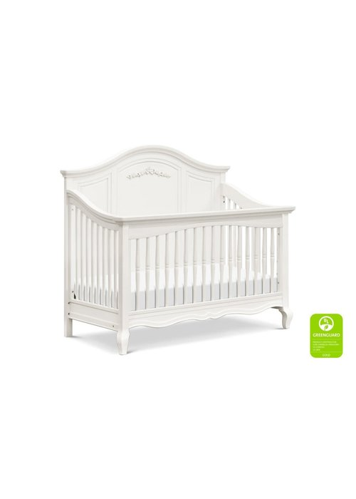 Franklin And Ben Franklin And Ben Mirabelle 4 In 1 Convertible Crib With Drawer In Warm White