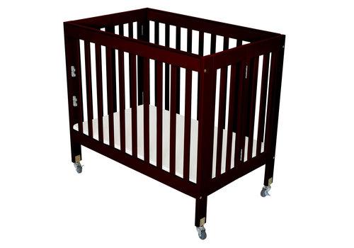 Fizzy Baby Fizzy Baby Modern Mini Porta Crib In Black- 3 Level
