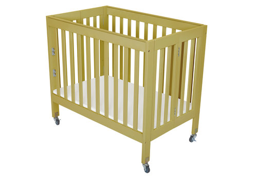 Fizzy Baby Fizzy Baby Modern Mini Porta Crib In Natural- 3 Level