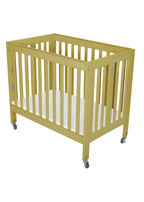 Fizzy Baby Fizzy Baby Modern Mini Porta Crib In Natural- 3 Level