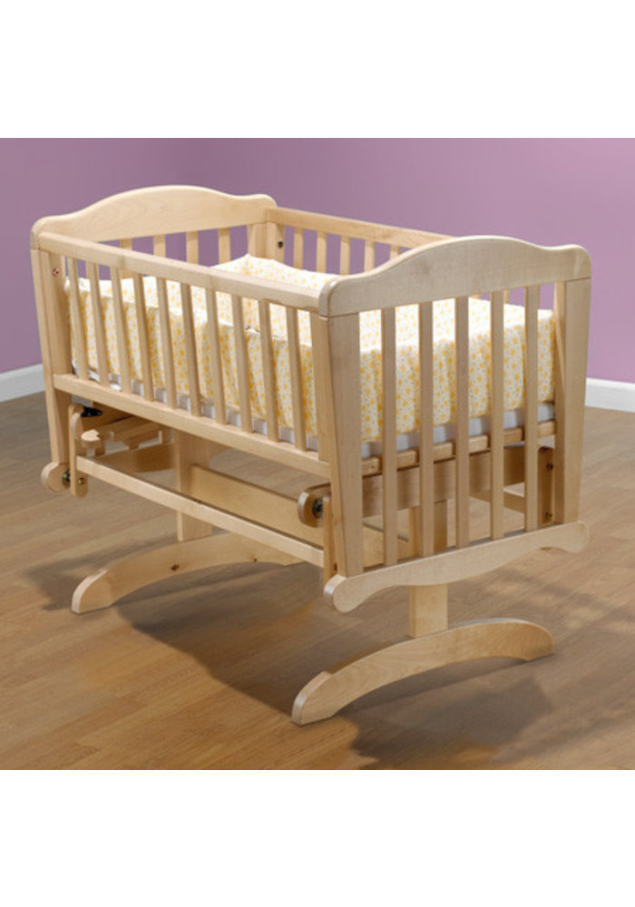 Sorelle Dondola Cradle In Natural With Mattress