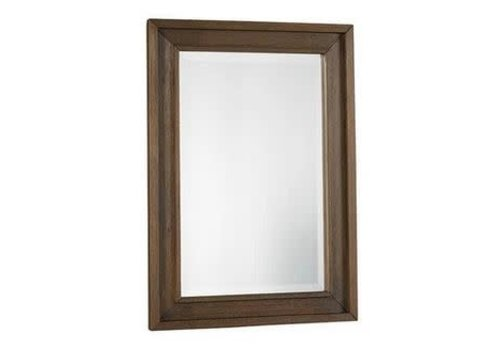 Dolce Babi Dolce Babi Lucca Mirror In Weathered Brown