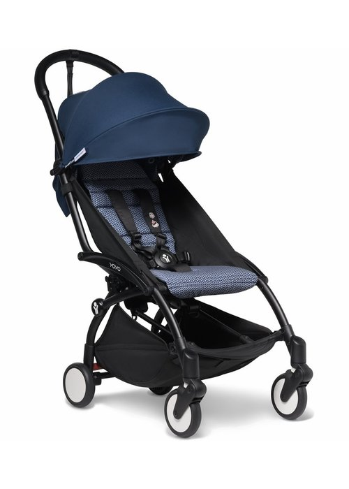 BabyZen Babyzen YOYO2 Ultra Compact 6+ Stroller - Black / Air France Blue