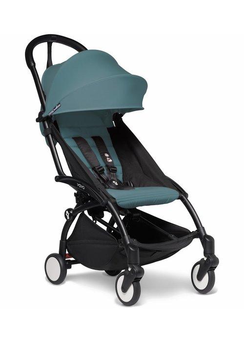 BabyZen Babyzen YOYO2 Ultra Compact 6+ Stroller - Black / Aqua