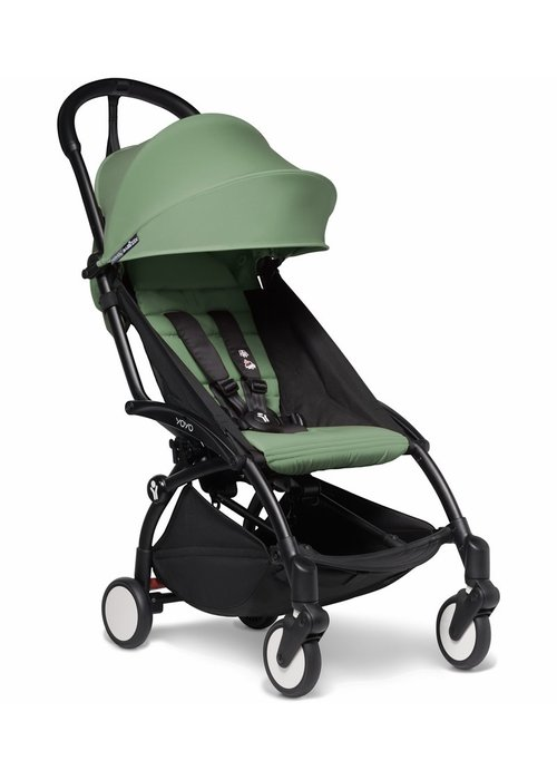 BabyZen Babyzen YOYO2 Ultra Compact 6+ Stroller - Black / Peppermint
