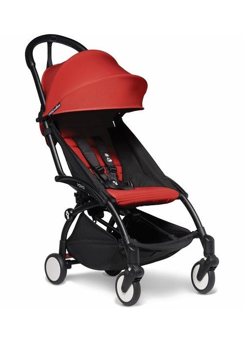 BabyZen Babyzen YOYO2 Ultra Compact 6+ Stroller - Black / Red