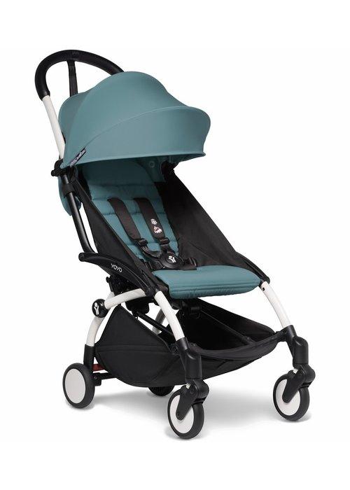BabyZen Babyzen YOYO2 Ultra Compact 6+ Stroller - White/ Aqua
