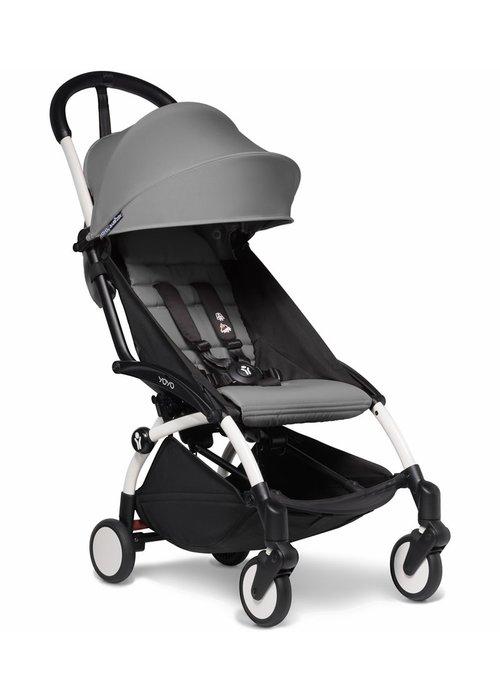BabyZen Babyzen YOYO2 Ultra Compact 6+ Stroller - White/ Grey