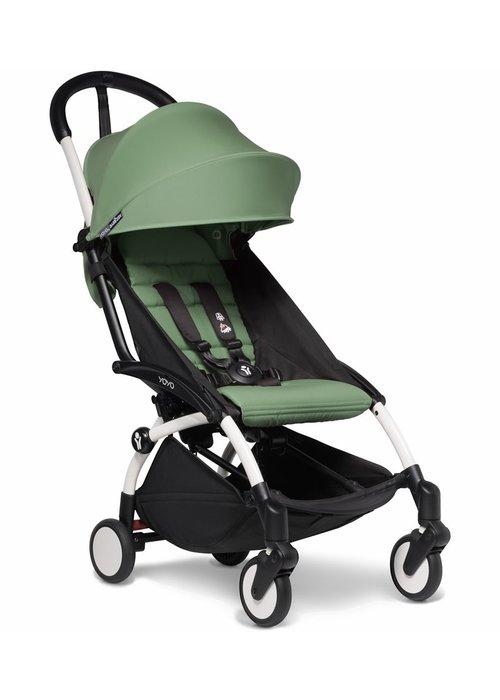 BabyZen Babyzen YOYO2 Ultra Compact 6+ Stroller - White/ Peppermint