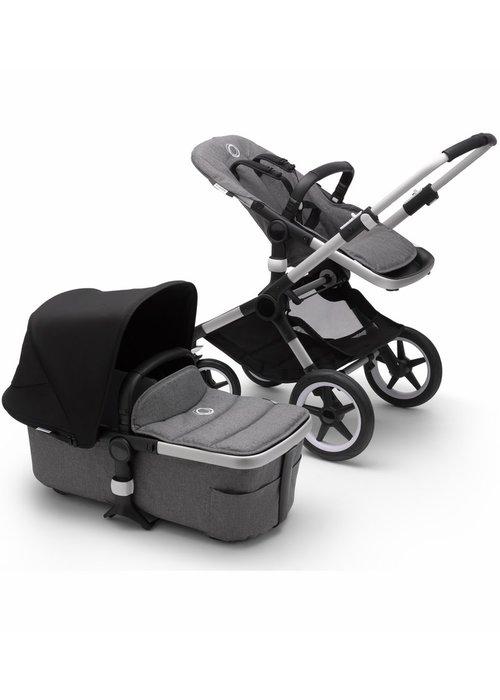 Bugaboo Bugaboo Fox2 Complete Stroller - Aluminum/Black/Grey Melange