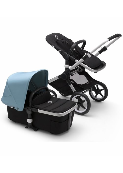 Bugaboo Bugaboo Fox2 Complete Stroller - Aluminum/Black/Vapor Blue