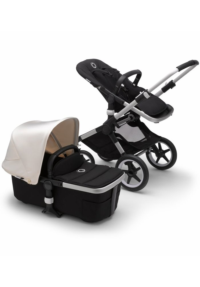 Bugaboo Fox2 Complete Stroller - Aluminum/Black/Fresh White