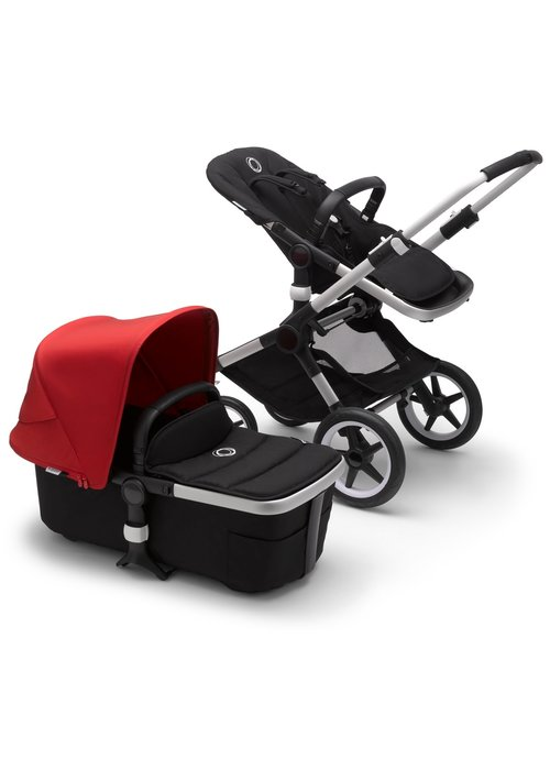 Bugaboo Bugaboo Fox2 Complete Stroller - Aluminum/Black/Red