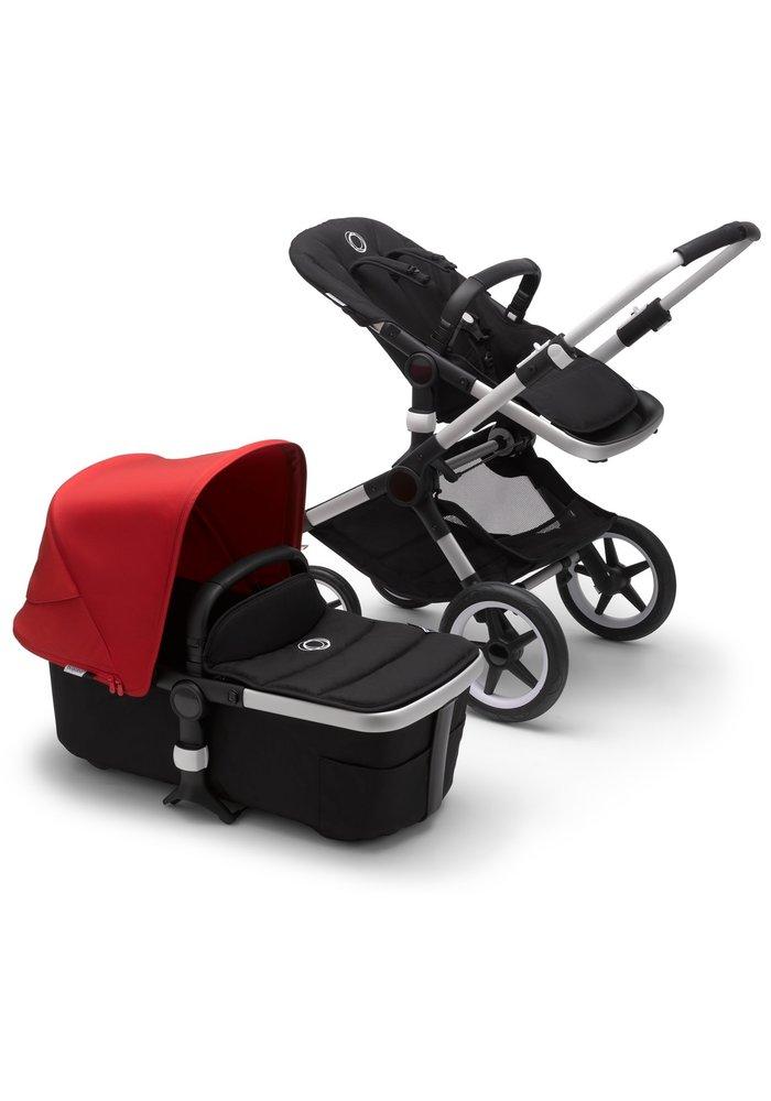 Bugaboo Fox2 Complete Stroller - Aluminum/Black/Red