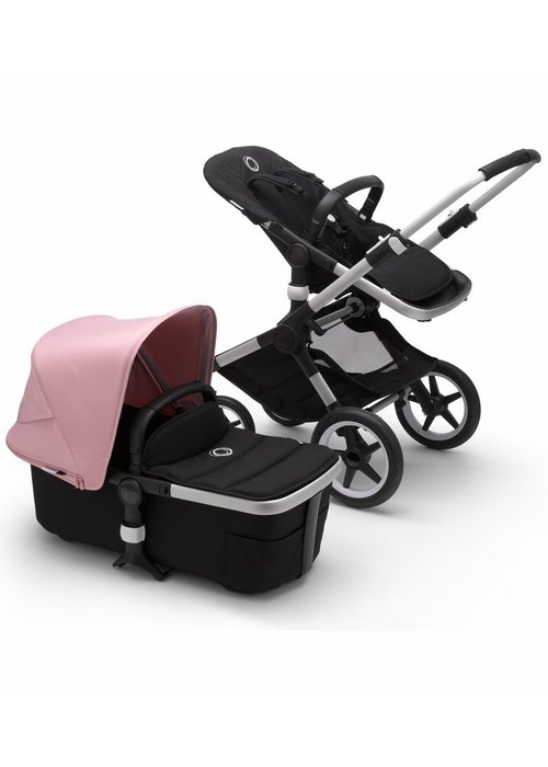 Bugaboo Bugaboo Fox2 Complete Stroller - Aluminum/Black/Soft Pink