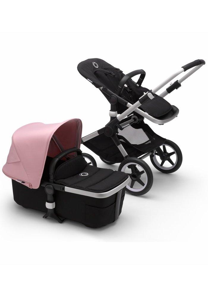 Bugaboo Fox2 Complete Stroller - Aluminum/Black/Soft Pink