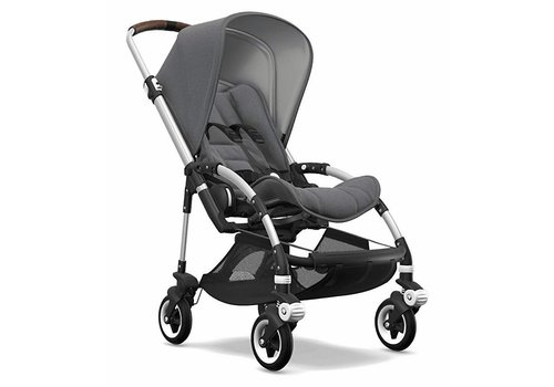 Bugaboo Bugaboo Bee5 Complete Aluminum Frame/ Grey Melange Seat and Canopy