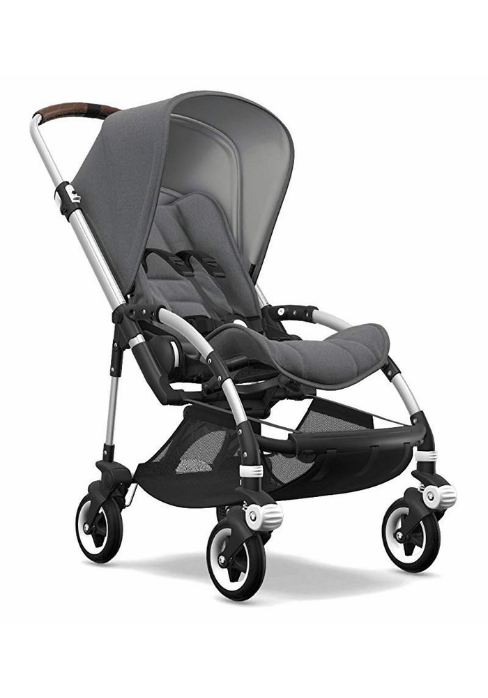 Bugaboo Bee5 Complete Aluminum Frame/ Grey Melange Seat and Canopy