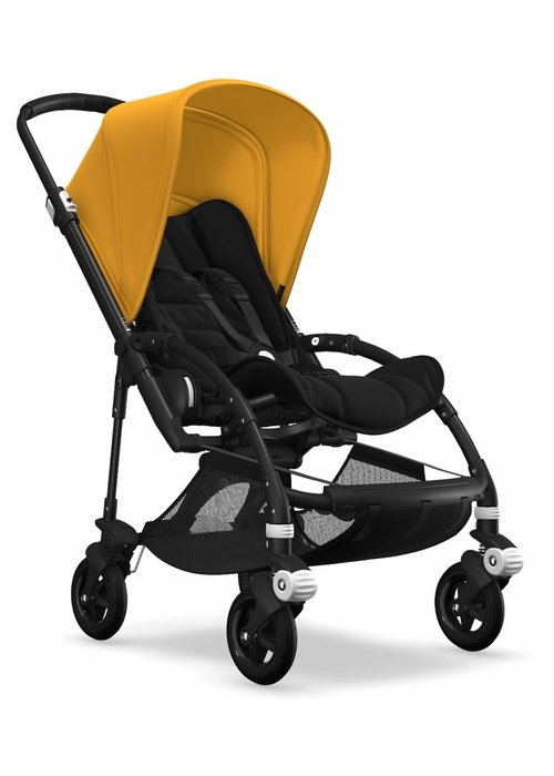 Bugaboo Bugaboo Bee5 Complete Stroller -Black/Black/Sunrise Yellow