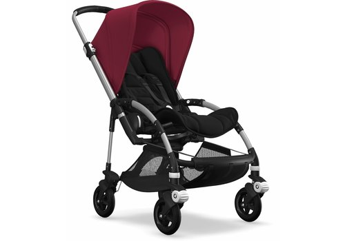 Bugaboo Bugaboo Bee5 Complete Stroller - Aluminum/Black/Red