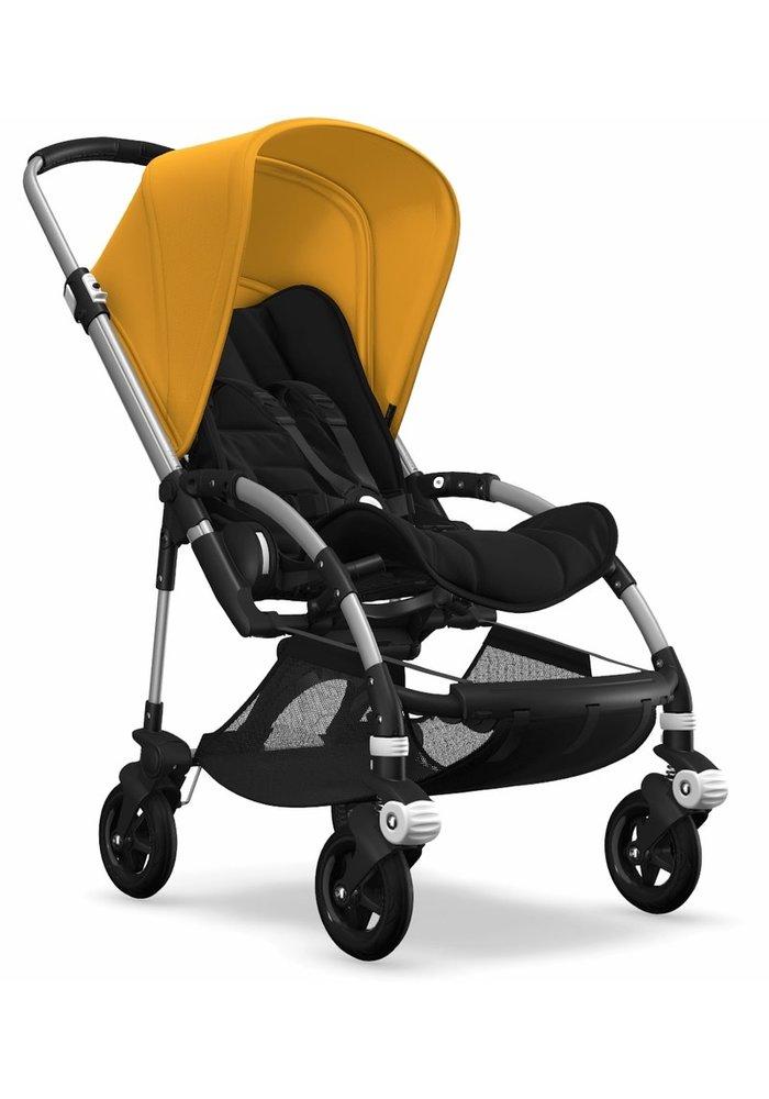 Bugaboo Bee5 Complete Stroller - Aluminum/Black/Sunrise Yellow