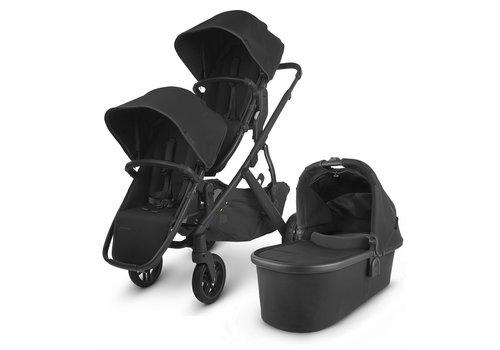 UppaBaby UPPAbaby 2020 Vista V2 Double Stroller - Jake (Black/Carbon/Black Leather)