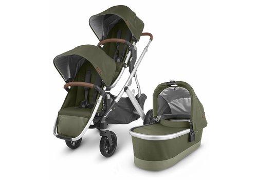 UppaBaby UPPAbaby 2020 Vista V2 Double Stroller - Hazel (Olive/Silver/Saddle Leather)
