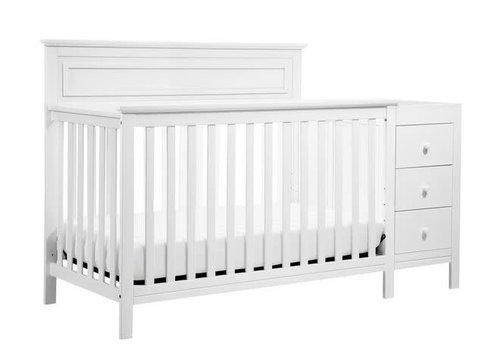 DaVinci Davinci Autumn 4-in-1 Crib and Changer Combo In White