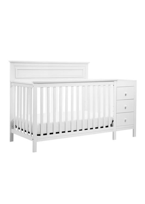 DaVinci Davinci Autumn 4-in-1 Crib and Changer Combo In White