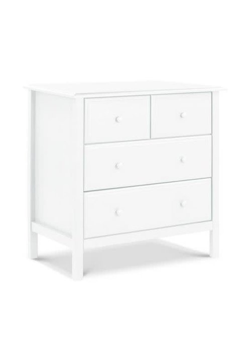 DaVinci Davinci Autumn 4-Drawer Dresser In White