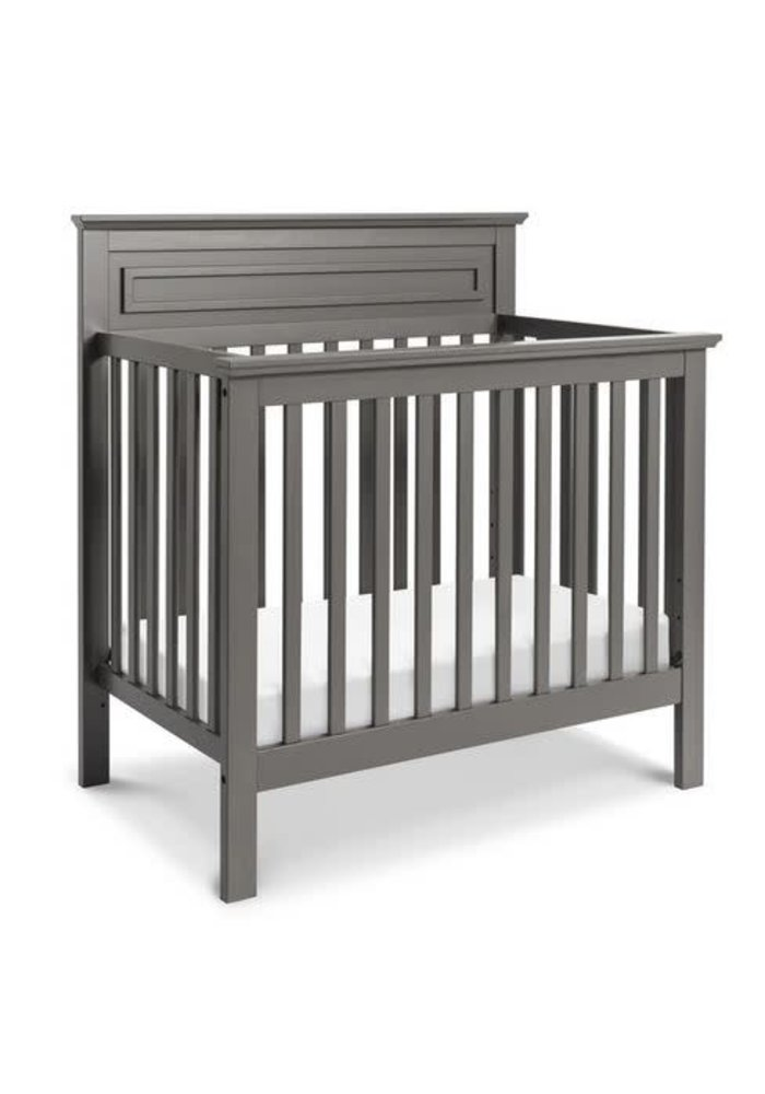 Davinci Autumn 4-in-1 Convertible Mini Crib In Slate