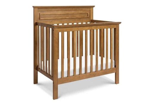 DaVinci Davinci Autumn 4-in-1 Convertible Mini Crib In Chestnut