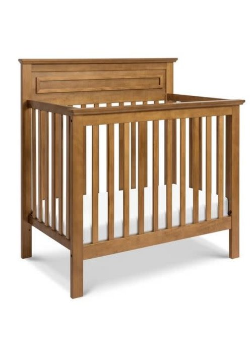 DaVinci Davinci Autumn 4-in-1 Convertible Mini Crib In Chestnut