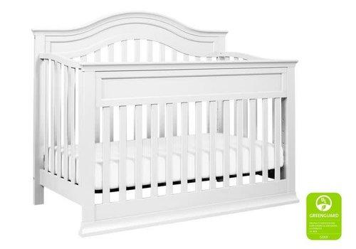DaVinci Davinci Brook 4-in-1 Convertible Crib With Toddler Bed Conversion Kit In White