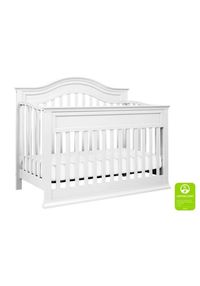 Davinci Brook 4-in-1 Convertible Crib With Toddler Bed Conversion Kit In White