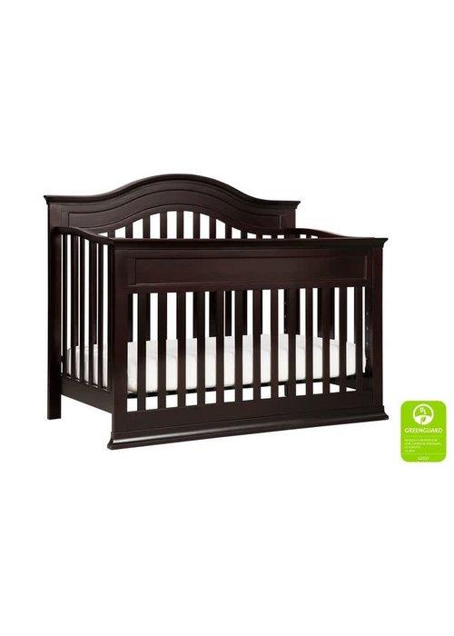 DaVinci Davinci Brook 4-in-1 Convertible Crib With Toddler Bed Conversion Kit In Dark Java