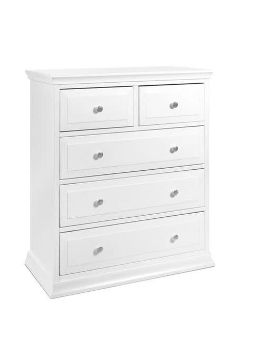 DaVinci Davinci Brook/Meadow/Piedmont/Signature 5-Drawer Tall Dresser In White