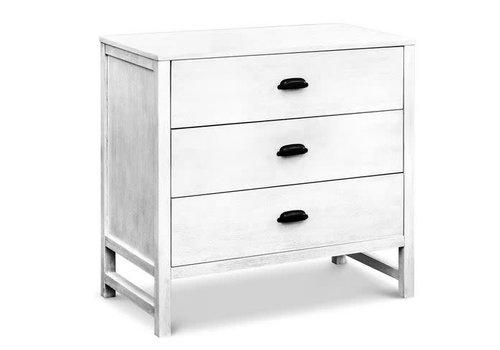 DaVinci Davinci Charlie/Fairway 3-Drawer Dresser In Cottage White