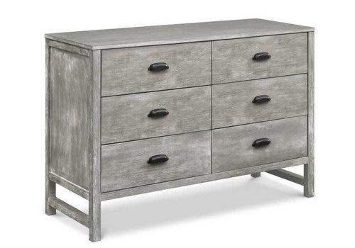 DaVinci Davinci Charlie/Fairway 6-Drawer Double Dresser In Cottage Grey