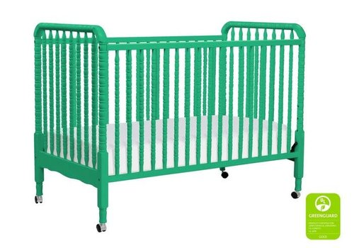DaVinci Davinci Jenny Lind 3-in-1 Convertible Crib With Spindles In Emerald