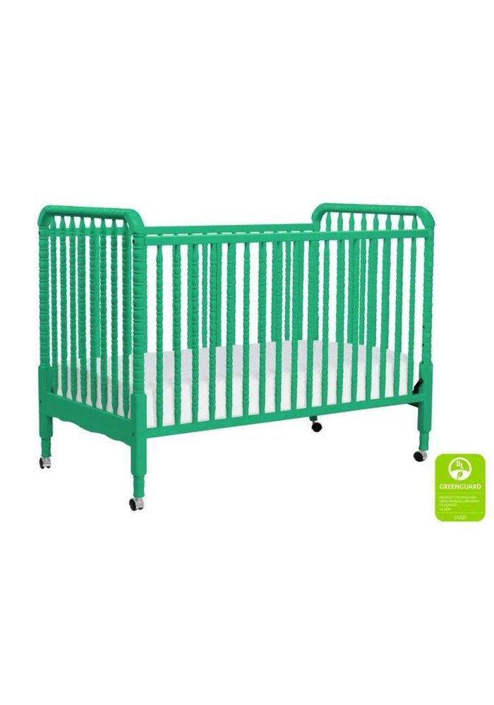 Davinci Jenny Lind 3-in-1 Convertible Crib With Spindles In Emerald