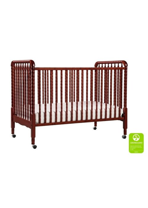 DaVinci Davinci Jenny Lind 3-in-1 Convertible Crib With Spindles In Rich Cherry
